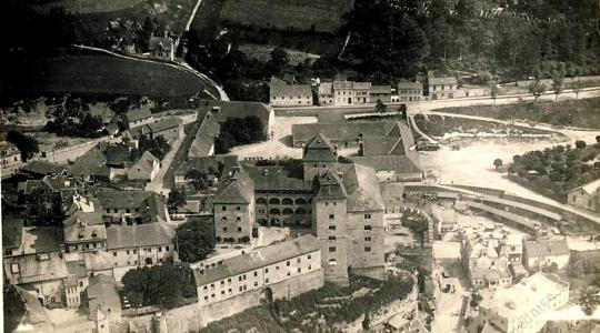 Mladá Boleslav – Hrad a Podolec, 1922 (zdroj: NF Škoda Auto)