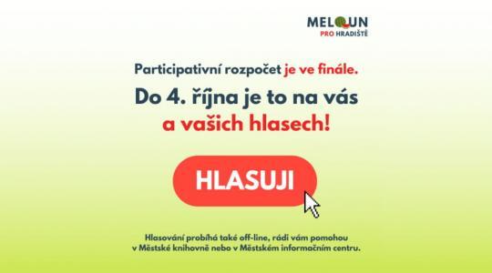 Hlasovat v Melounu pro Hradiště můžete již jen dnes