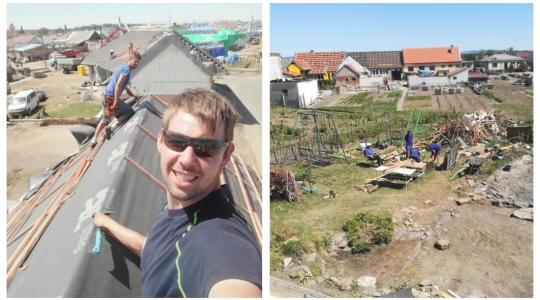 Truhlář Jan Suske se přidal ke kamarádovu nápadu jet pomáhat na Moravu. Foto: Jan Suske