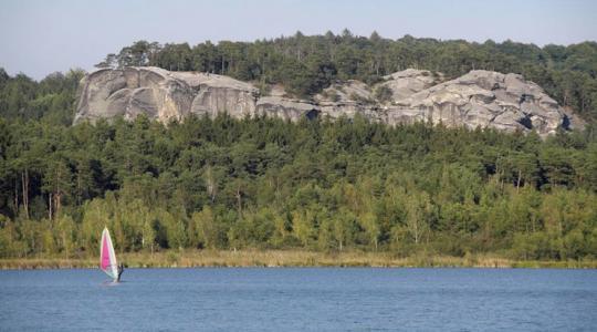 Jedním z cílů plánovaných výletů je i Komárovský rybník. Foto: KČT Mnichovo Hradiště