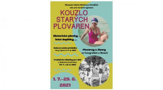 Od 1. července do 29. srpna můžete navštívit v Muzeu města Mnichovo Hradiště letní výstavu Kouzlo starých plováren. Zdroj: muzeum