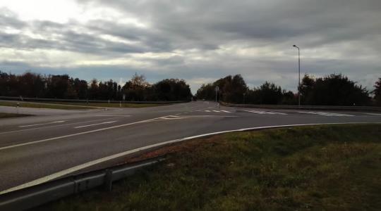Křižovatka u čerpací stanice KM Prona. Foto: Petr Novák