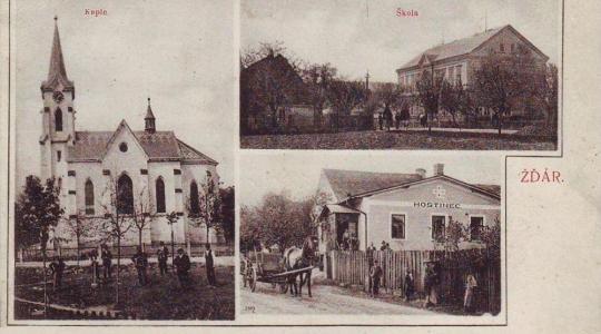 Chystá se kniha o historii obce Žďár. Přispět informacemi či starými fotografiemi můžete i vy. Ilustrační foto: obec Žďár