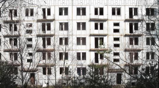 Opuštěné domy ve vojenském prostoru Ralsko. Ilustrační foto: Petr Novák