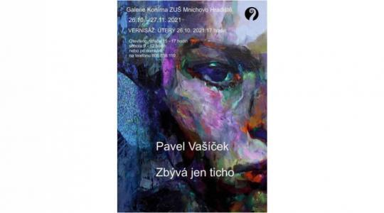 ZUŠ Mnichovo Hradiště zve na výstavu malíře Pavla Vašíčka