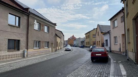 Žižkova ulice v Bakově. Foto: město Bakov nad Jizerou